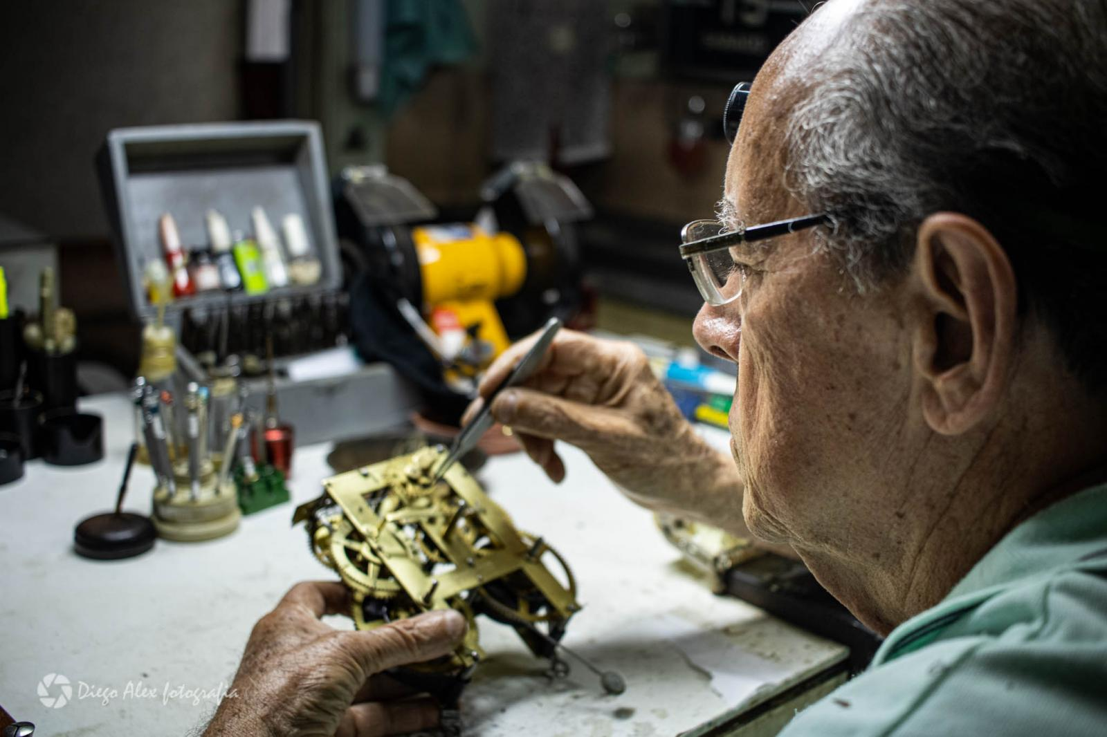Restauração Relógio Bistrol